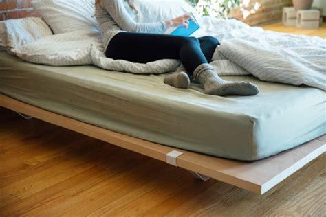minimal platform bed a minimal platform bed for city living design milk