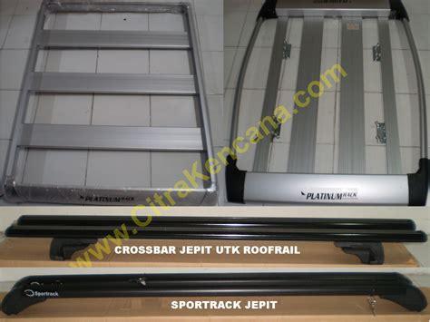 Cross Bar Jepit Grandnew Innova baru big promo mei roofrack sportrack crossbar utk semua