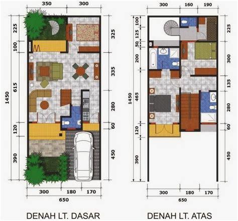 design interior rumah type 40 ツ contoh gambar denah rumah minimalis 1 dan 2 lantai type 36