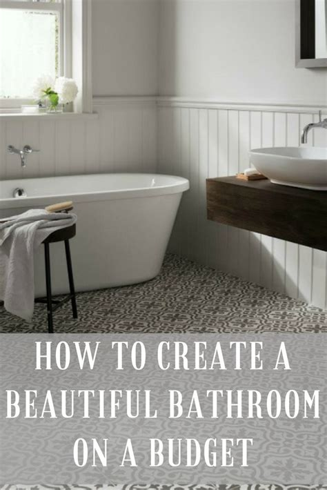 how much to spend on bathroom remodel the 25 best budget bathroom ideas on pinterest small