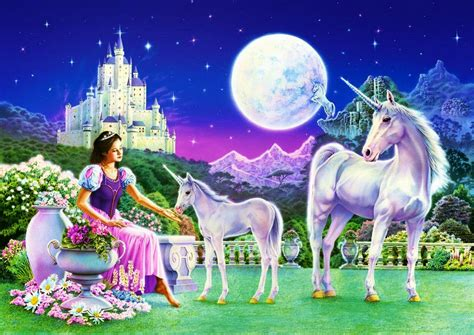 girly horse wallpaper princess with unicorn horse fairy tale story images for
