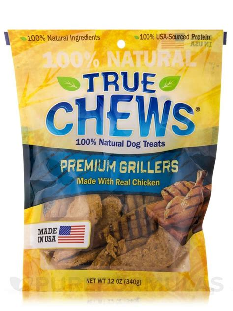 Chews Chicken true chews premium grillers with real chicken treats 12 ounce bag jet