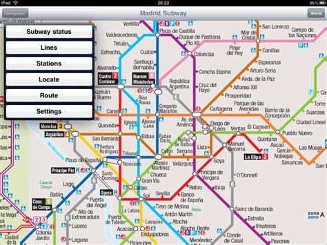 madrid metro map map of madrid metro in