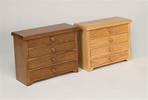 4 drawer shaker jewelry chest amish valley products