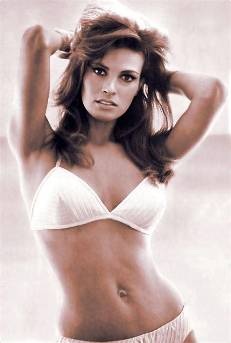 8 Beautiful Bikinis by Raquel Welch White 1970s Raquel Welch