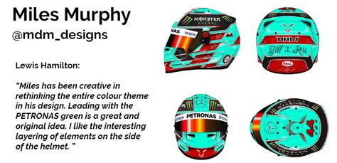 f1 helmet design rules here s the winning design from hamilton s 2017 f1 helmet