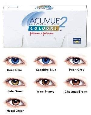 coloured contact lenses as a beauty & fashion statement