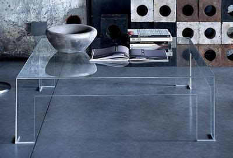 atlantis coffee table square top 80 x 80 cm by glas italia