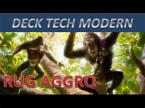 rug aggro modern deck tech modern rug aggro mtg