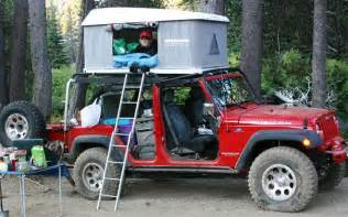 Tent For Jeep Wrangler Unlimited Overland Expo 2009 Truck Will Travel Event
