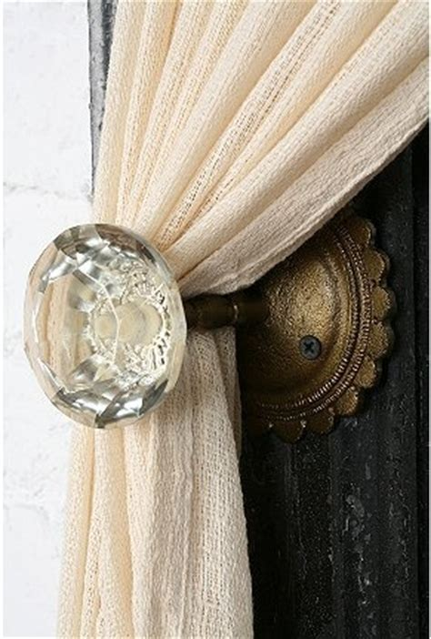 curtain pullbacks i m projecting again glass doorknob curtain tie backs