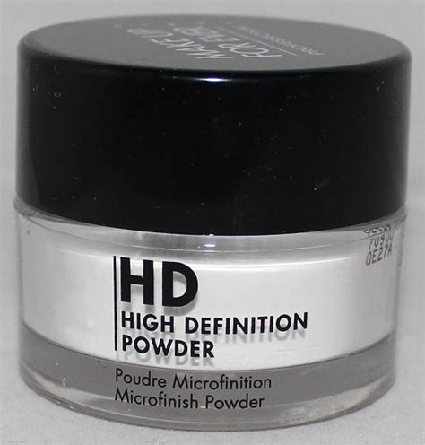 Make Up For Hd Powder make up for hd high definition powder microfinish