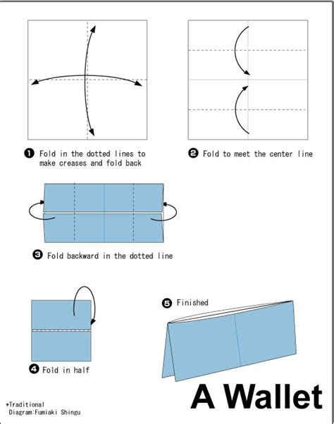 How To Fold A Paper Wallet - 25 best ideas about origami wallet on simple