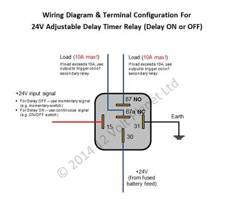 24v relay diagram wiring diagram with description