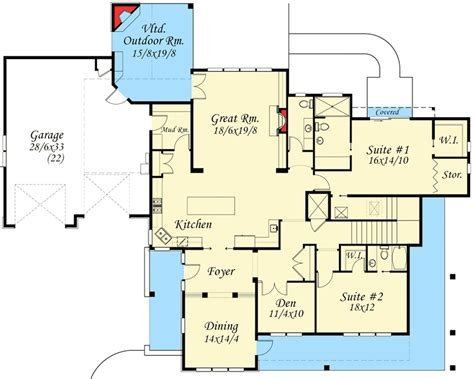 shabby chic house plans 4 bed shabby chic house plan 85061ms architectural designs house plans