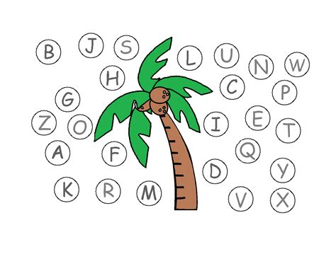 chicka chicka boom boom tree template the gallery for gt palm tree leaf stencil