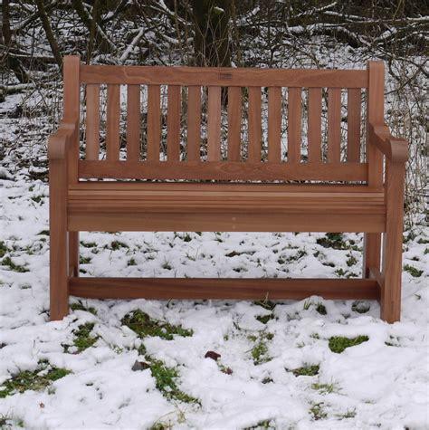 Handmade Garden Bench - 4ft hardwood garden bench handmade bton exmoor