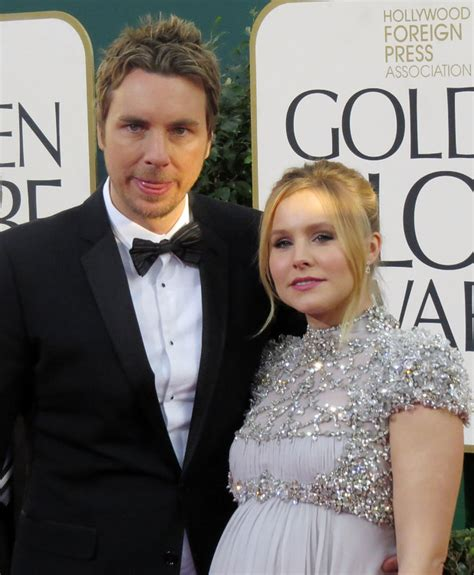 kristen bell husband kristen bell hints at having baby boy showbiz news