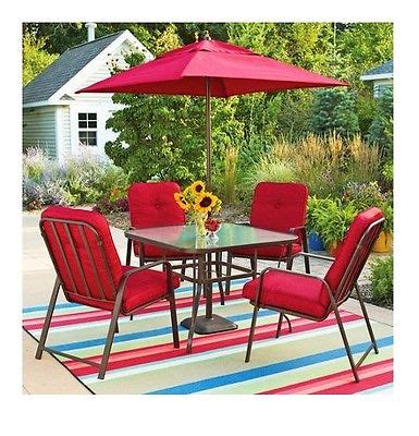 Patio Table Chairs Umbrella Set by Patio Dining Sets With Umbrella Creativity