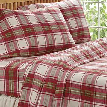 Lands End Crib Sheets by Green Plaid Flannel Sheets