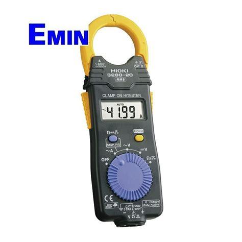 Multimeter Hioki cl meter hioki cl meter ac dc