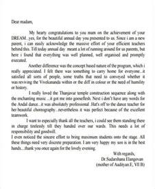 appreciation letter to parents from 41 appreciation letters in pdf