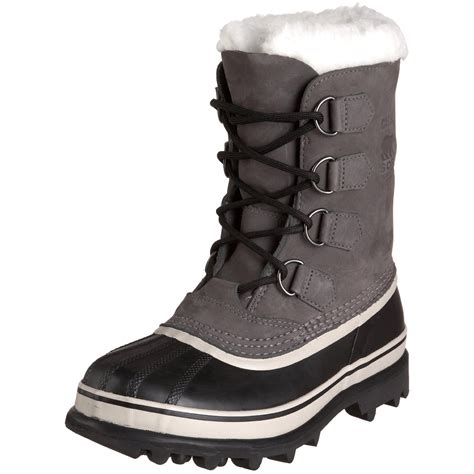 sorel caribou boot sorel womens caribou boot in gray shale lyst