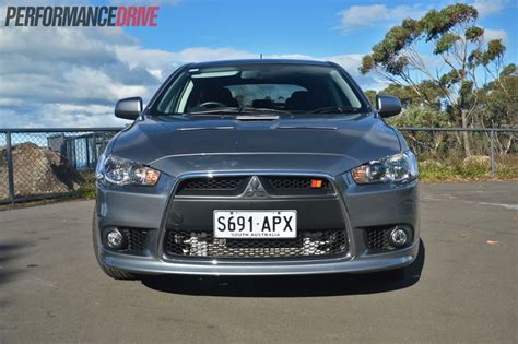 mitsubishi ralliart 2013 mitsubishi lancer ralliart sportback review video