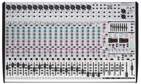 Mixer Behringer Eurodesk Sx2442fx Pro behringer sx2442fx eurodesk 24 channel mixer