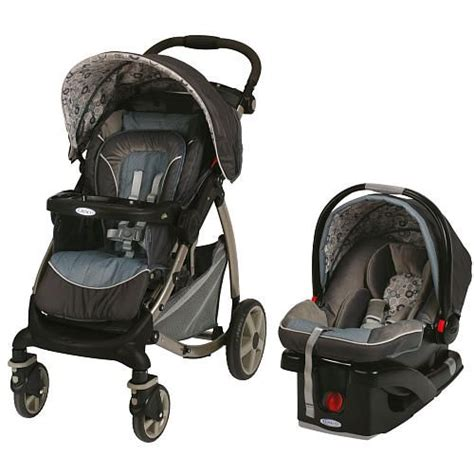 graco stylus click connect travel system stroller