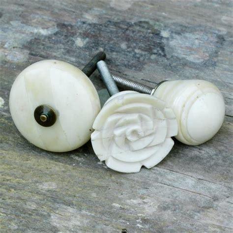Bone Cabinet Knobs by Bone Door Knob Finch Crane