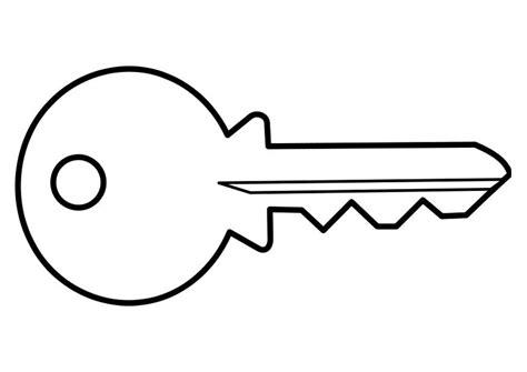 printable house key coloring page key img 22467