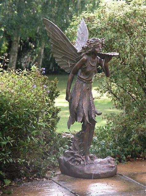 fairy garden statues large standing fairy statue garden ornament