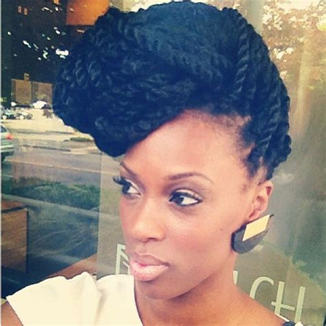 stunning kinky twists styles youll love