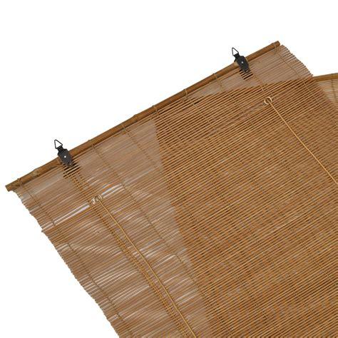 Sichtschutz Langes Fenster by Bambus Rollo 160 Cm Lang Bambusrollo Kordel Raffrollo F 252 R