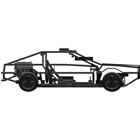 delorean chassis simpleplanes delorean chassis 3 0