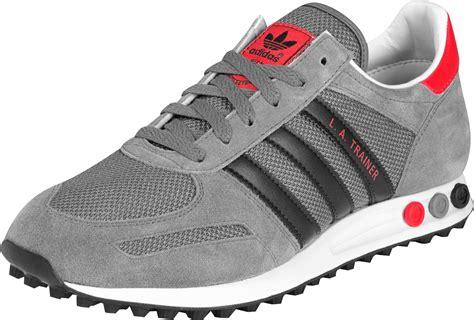 trainer sneakers adidas la trainer shoes grey black