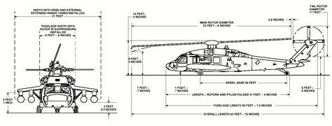 F Drawing Size by Uh 60 Black Hawk Dimensions Jsr 75