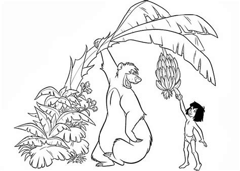 printable coloring pages jungle book jungle book coloring pages best coloring pages for kids
