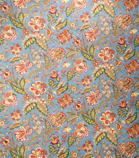 home decor print fabric joya bluejay floral jo