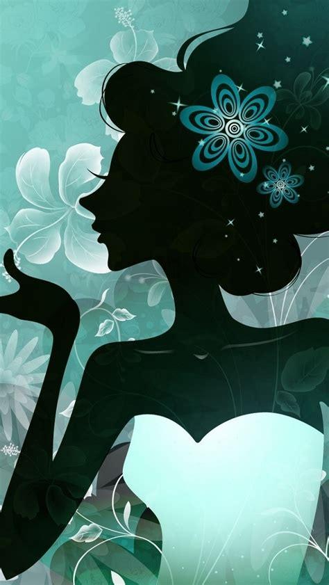 Girly Figure iPhone 5 Wallpaper (640x1136)