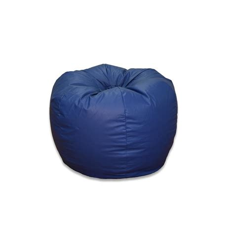 ace casual furniture blue vinyl bean bag 1322001 the