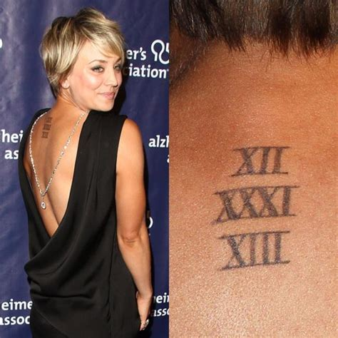 kaley cuoco tattoo tattoo collections