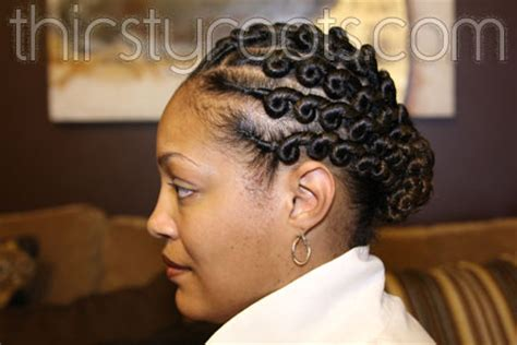 side flat twist hairstyle flat twist hairstyle from the side flat twist flats and