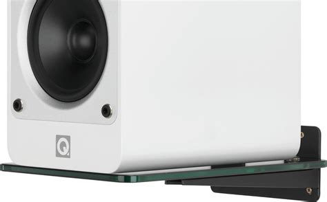 q acoustics qa2140 speaker glass wall support pair at
