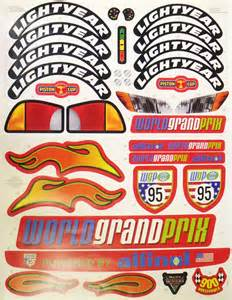 Lightning Mcqueen Car Bed Replacement Stickers Power Wheels Lightning Mcqueen Decal Sticker Sheet