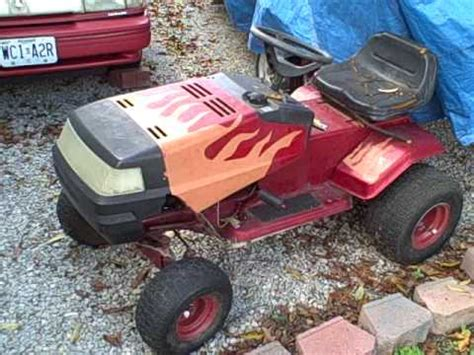 built  racing lawn mower youtube