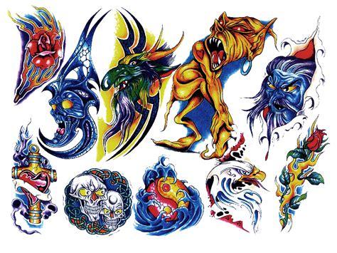 tattoo color png colored tattoo shape 033 mojo shapes