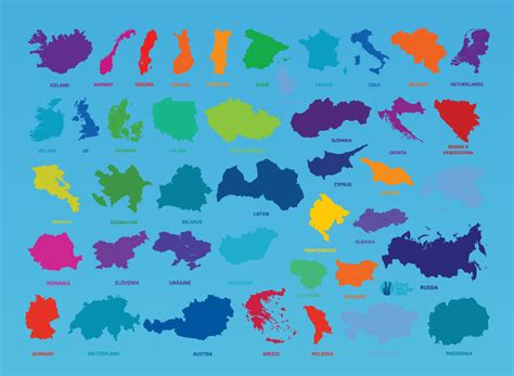 countries map country maps