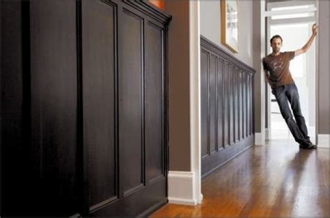 Black Wainscoting Bathroom 25 Best Ideas About Black Wainscoting On